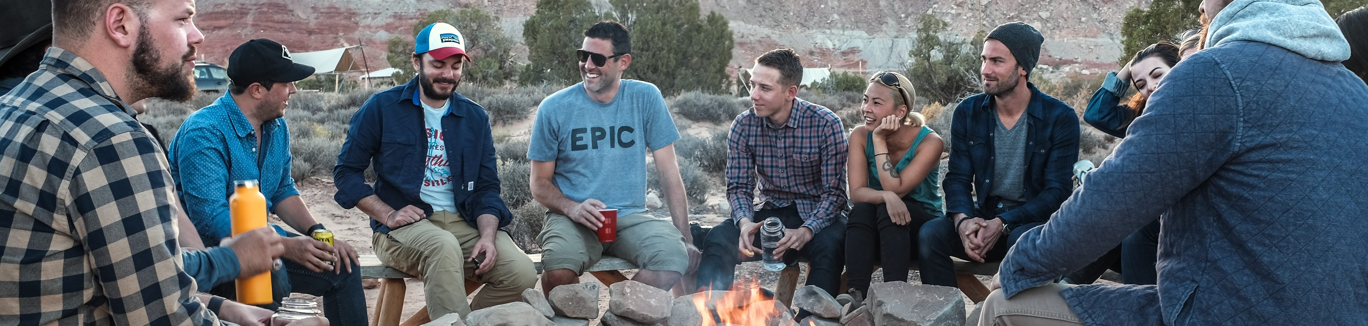 marketing consulting happens everywhere, even around a campfire with Yasha Harari